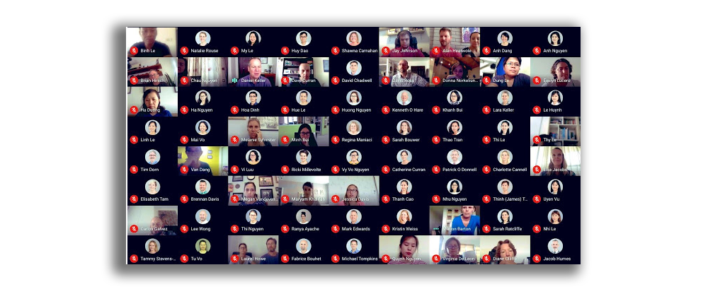 How to see everyone on Google Meet and grid view